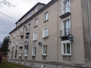 Antena zbiorcza - budynek przed modernizacją