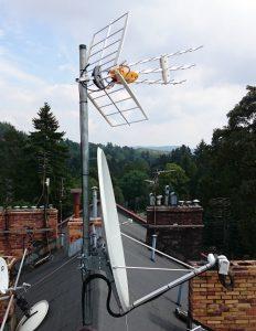 Anteny zbiorcze satelitarne i naziemne